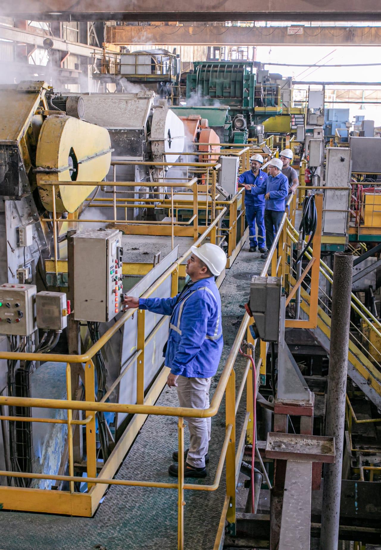 Automatisation du moulin 5 de la sucrerie du Gol