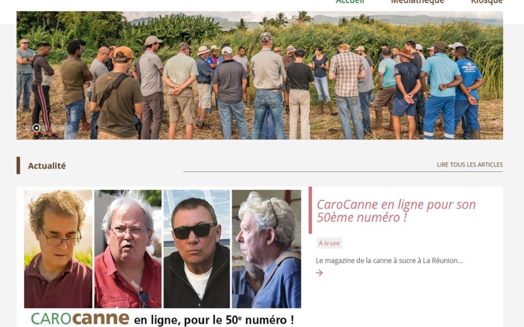 Carocanne fête son 50ème numéro et un nouveau site internet !